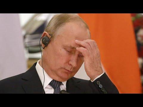 Την κατιούσα έχει πάρει η δημοτικότητα του Βλαντιμίρ Πούτιν…