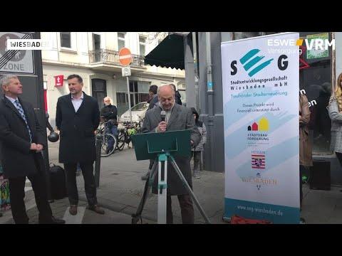 Wiesbaden: Fußgängerzone für ein Jahr in der Wellritz ...