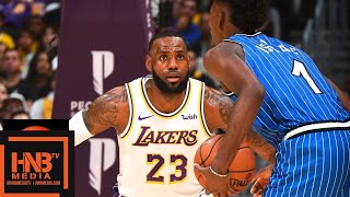 Los Angeles Lakers vs Orlando Magic Full Game Highlights | 11.25.2018, NBA Season