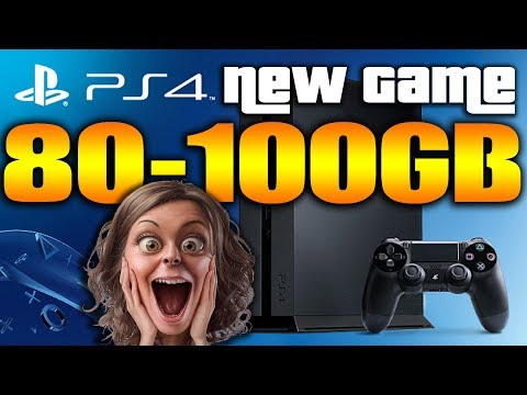 "HUGE New PS4 Game Over 100 GB Download ""Gaming News"""