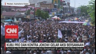 Video Disaat Ribuan Massa Pro & Kontra Jokowi Gelar Aksi Bersamaan MP3, 3GP, MP4, WEBM, AVI, FLV Juli 2018
