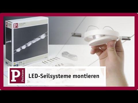 LED Seilsystem – flexibel spannen und einfach befestigen