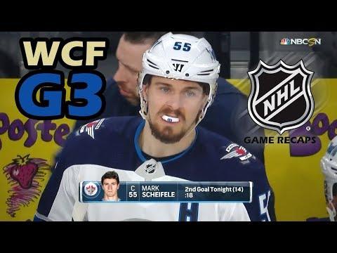 Winnipeg Jets vs Vegas Golden Knights. 2018 NHL Western Conference Final. G3. 05.16.2018. (HD)