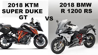 2. KTM Super Duke GT vs BMW R1200 RS-Compare Specifications