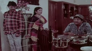 Tanikella Bharani Busted A Illegal Affair | Comedy Scene