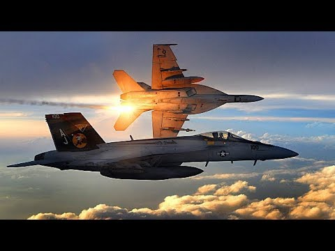 The Boeing F/A-18E and F/A-18F...