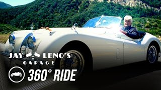 Take a 360˚ Virtual Reality Drive with Jay Leno in a 1954 Jaguar XK120! - Jay Leno's Garage by Jay Leno's Garage