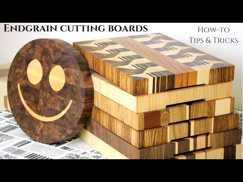Next Level Cutting Boards // How to make beautiful end grain cutting boards