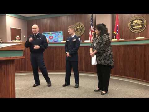 Video: Jacob Smith recognized