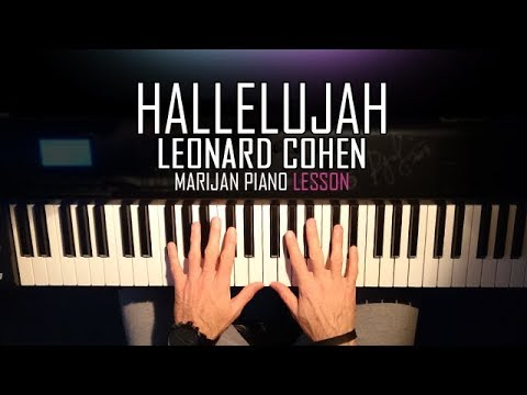 How To Play: Leonard Cohen - Hallelujah | Piano Tutorial Lesson + Sheets