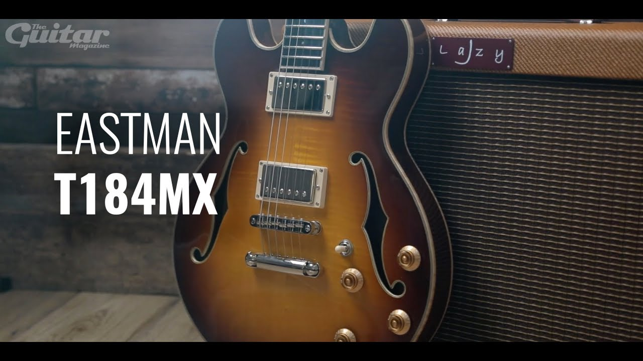 Eastman T184MX hollowbody electric guitar demo
