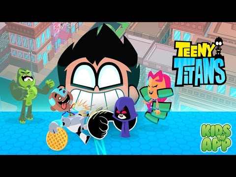 Teeny Titans - A Teen Titans Go! Figure Battling Game (Cartoon Network) - Best App For Kids