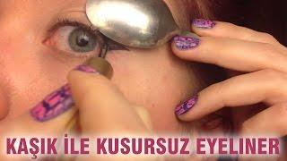 Video Kaşık İle Kusursuz Eyeliner MP3, 3GP, MP4, WEBM, AVI, FLV November 2018