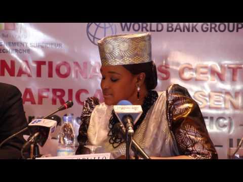 Cérémonie de lancement des centres d'excellence africains - Discours du Pr Aminata SALL DIALLO