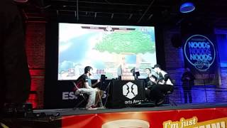 Tweek vs Marss Hype Doubles Moment Front Row View