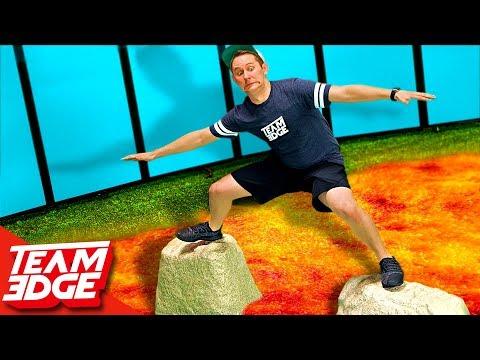 Floor is Lava Challenge!! (видео)