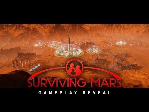 Surviving Mars - Gamescom Gameplay