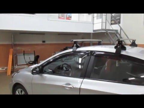 Багажник для велосипеда на крышу автомобиля hyundai снимок