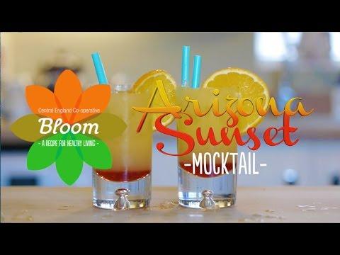 Arizona Sunset Mocktail (видео)