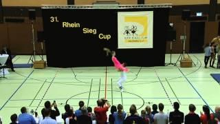 Shirley Urban - Sebastian Mattern - 31. Rhein-Sieg-Cup 2013