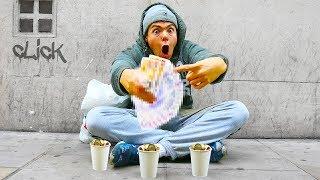 Video 24 Hours Homeless - How Much Money Did I Make? MP3, 3GP, MP4, WEBM, AVI, FLV Maret 2019