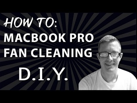 macbook pro - In this video, we show you how to clean your fans on a Macbook Pro Unibody Laptop.