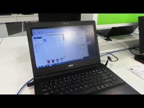 Acer Travelmate P246 notebook bemutató videó