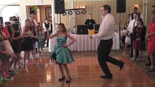 Best Father Daughter Dance Ever - Comedian Mike Hanley and his daughter Jessica