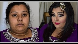 Asian Bridal Makeover /Pakistani Bridal Makeup