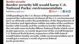 H.R. 1505 Land Grab For North American Union
