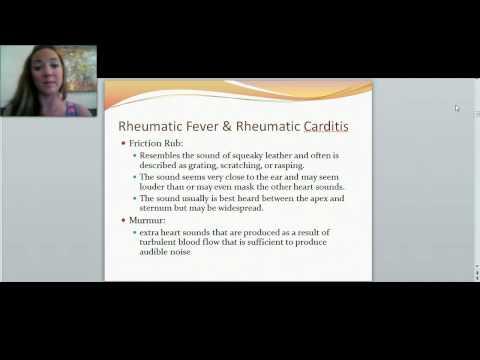 Cardiovascular Disorders: Rheumatic Carditis