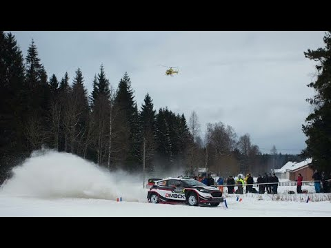 wrc rally sweden 2017 - highlights day 2