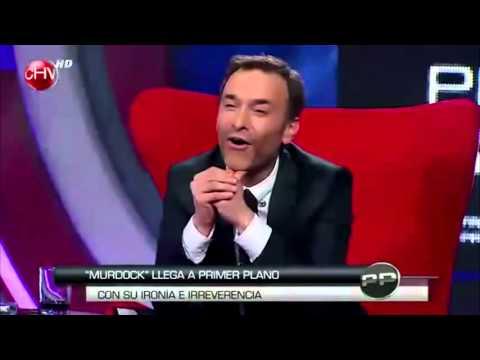 Murdock en Primer Plano Chilevisión[WEANDO A LOS ANIMADORES]