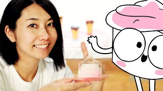 Rie Makes A Dessert Friend For The Good Advice Cupcake • Tasty by Tasty