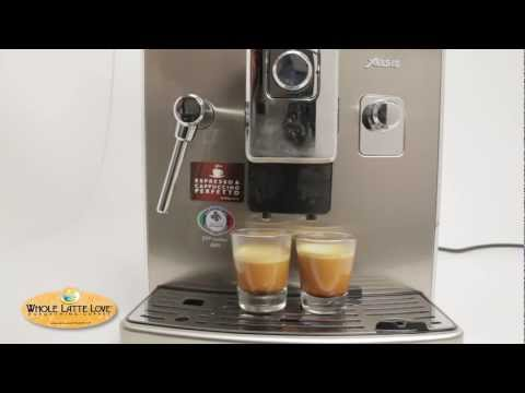 Saeco Xelsis Superautomatic Espresso Machine Review