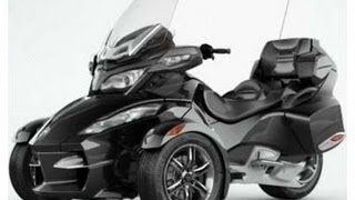 9. Last Ride of 2012 - Can Am Spyder RT-S SE5