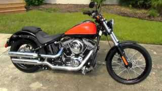 6. 2012 Harley-Davidson FXS Softail Blackline - Motorcycle For Sale