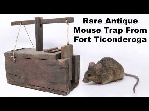 A Rare Antique Fort Ticonderoga Mouse Trap. Mousetrap Monday.