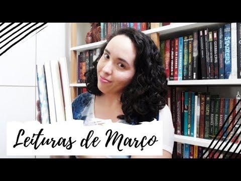 Leituras de Março (2019) + SORTEIO | VEDA #7 | Um Livro e Só