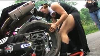 Saint-Laurent-de-la-Cabre France  city photos gallery : Tu savais que les filles aussi font de la moto ? ( video officielle Moto Journal )