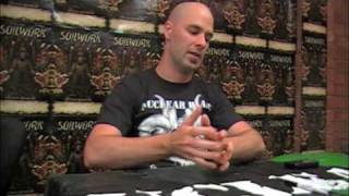 SOILWORK - Part 01 - Fans Interview Peter Wichers - THE PANIC BROADCAST