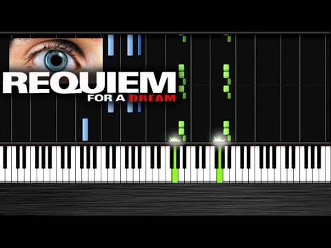 Requiem For A Dream Piano - Piano Tutorial By PlutaX  Synthesia