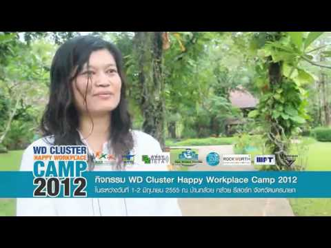 WD Happy Workplace Cluster Camp 2012