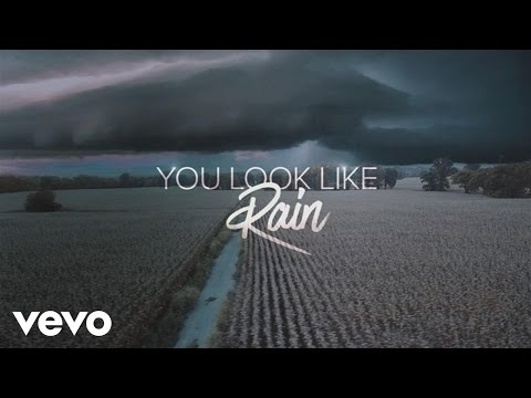 You Look Like Rain Lyric Video