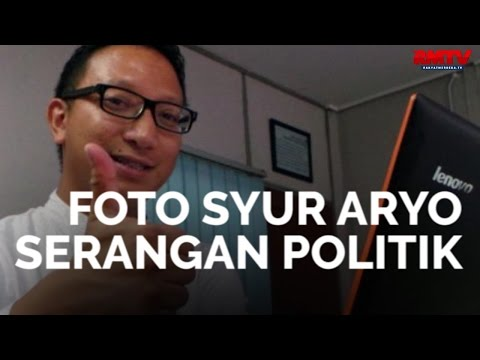 Foto Syur Aryo Serangan Politik