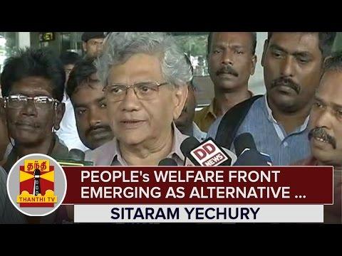 Peoples-Welfare-Front-emerging-as-Alternative-for-Dravidian-Parties--Sitaram-Yechury--Thanthi-TV