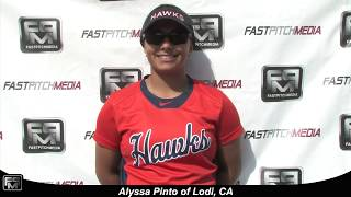 2020 Alyssa Pinto Athletic Slapper, Outfield and First Base Softball Skills Video