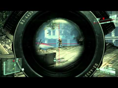 Crysis 2 Multiplayer Progression Trailer