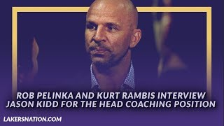 Lakers Newsfeed: Rob Pelinka and Kurt Rambis Interview Jason Kidd For the Head Coaching Position by Lakers Nation