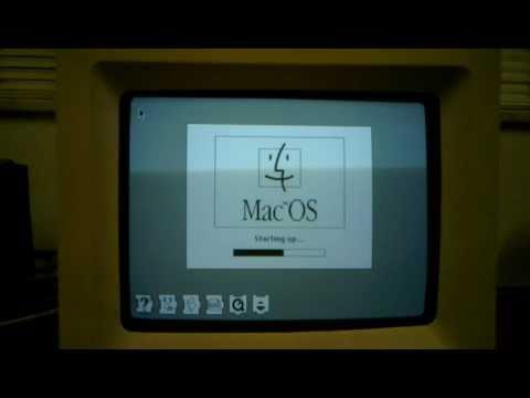Macintosh SE/30 reconstruido y emulado